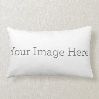 "Cree su propia almohada lumbar 13"" del poliéster X"