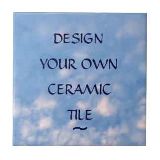 Cree su propia baldosa cerámica de encargo