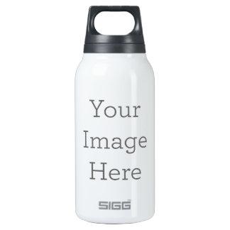 Cree su propia botella de agua aislada
