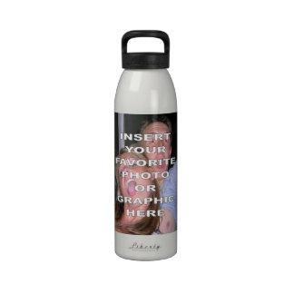 Cree su propia botella de agua de la libertad