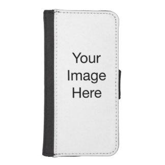 Cree su propia caja de la cartera del iPhone 5/5s Funda Cartera Para Teléfono