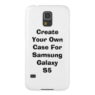 Cree su propia caja de la galaxia S5 de Samsung Funda Para Galaxy S5