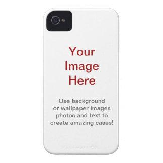 Cree su propia caja intrépida de Blackberry iPhone 4 Case-Mate Fundas