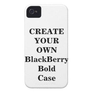 Cree su propia caja intrépida de Blackberry iPhone 4 Carcasas