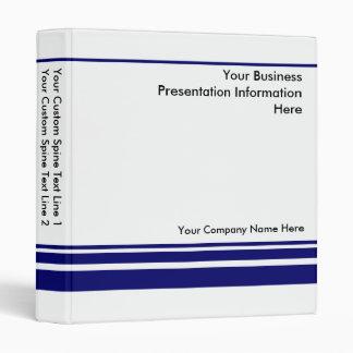 Cree su propia carpeta de la presentación del
