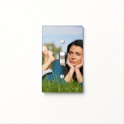 Cree su propia cubierta de interruptor de la luz d placas para interruptor