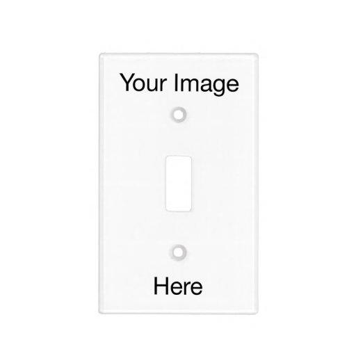 Cree su propia cubierta de interruptor de la luz cubiertas para interruptor