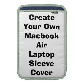 Cree su propia cubierta de la manga del ordenador  fundas MacBook
