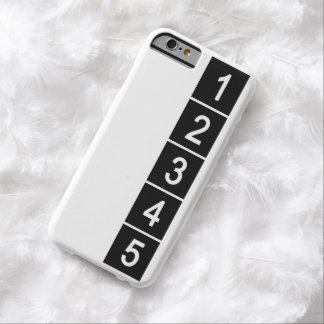 Cree su propia cubierta del iPhone 6 de la foto de Funda De iPhone 6 Barely There