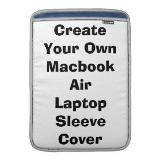 Cree su propia cubierta del ordenador portátil fundas macbook air