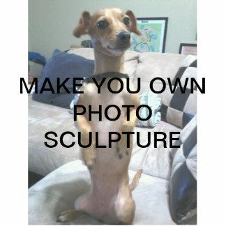 Cree su propia escultura de la foto fotoescultura vertical