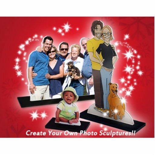 ¡Cree su propia escultura del recorte de la foto d Escultura Fotografica