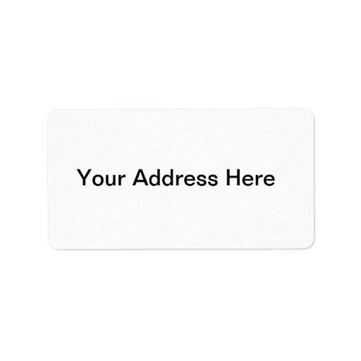 Cree su propia etiqueta de dirección