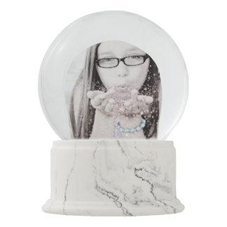 Cree su propia foto de encargo en línea del globo bola de nieve