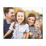 Cree su propia foto de familia impresión en lona