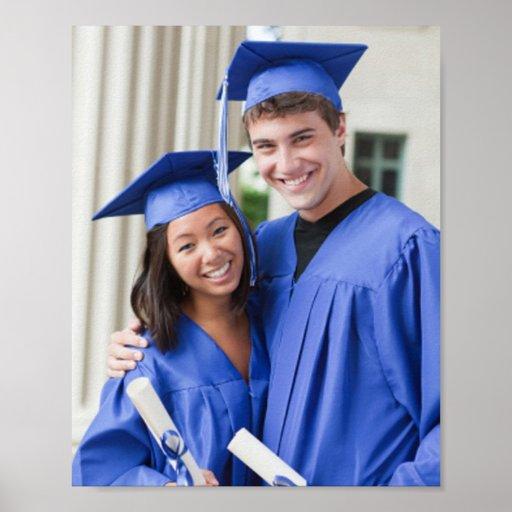 Cree su propia foto enmarcada de la graduación poster