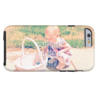 Cree su propia foto - horizontal funda para iPhone 6 tough