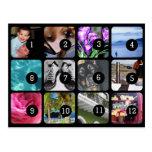 ¡Cree su propia foto Instagram 12 imágenes! Tarjeta Postal