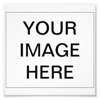 Cree su propia impresión de la foto cojinete
