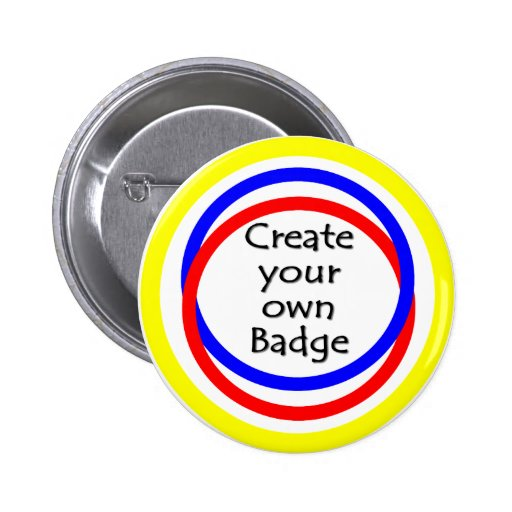 Cree su propia insignia pin