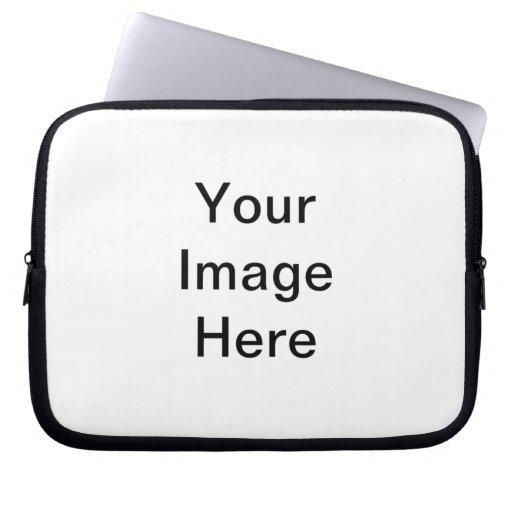 Cree su propia manga del ordenador portátil fundas computadoras