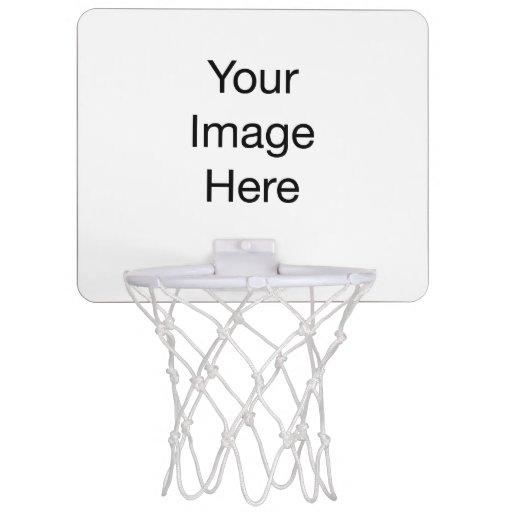 Cree su propia mini meta del baloncesto canasta mini