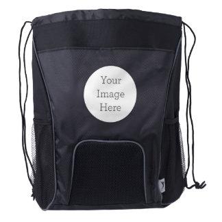 Cree su propia mochila del lazo mochila de cordón