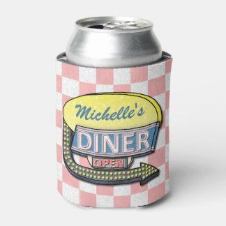 Cree su propia muestra retra de encargo del enfriador de latas
