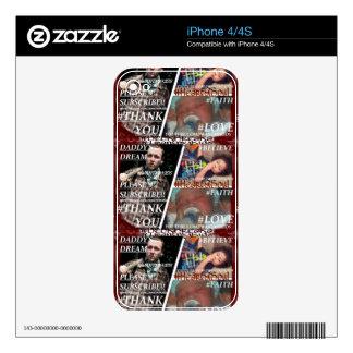 Cree su propia piel de encargo del iPhone 4/4S iPhone 4 Skins
