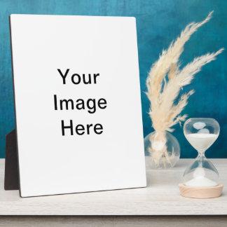 Cree su propia placa