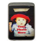 Cree su propia plantilla de los regalos de la foto fundas macbook air