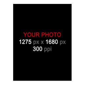 Cree su propia postal de encargo de la foto