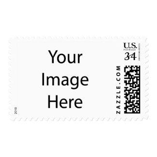 Cree su propia postal media $0,34 sellos