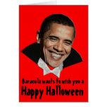 Cree su propia tarjeta de Halloween: Baracula