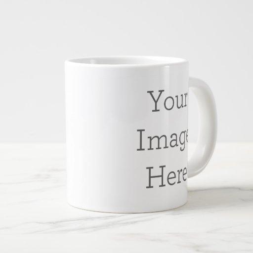 Cree su propia taza de la especialidad taza extra grande