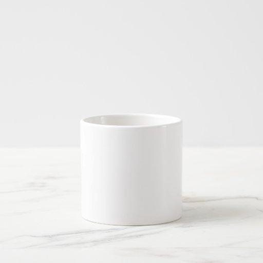 Cree su propia taza del café express taza espresso