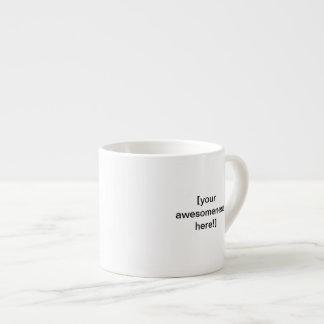 ¡Cree su propia taza grande impresionante del café Tazas Espresso
