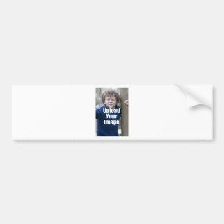 Cree su propia taza personalizada de la foto del pegatina para auto