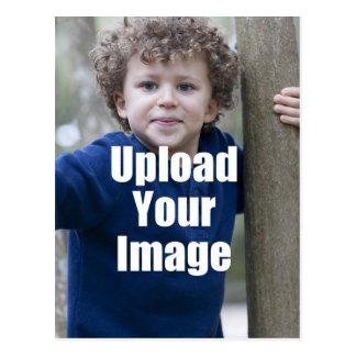 Cree su propia taza personalizada de la foto del postales