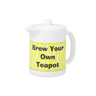 Cree su propia tetera y elabore cerveza sus los pr