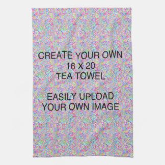 Cree su propia toalla de té