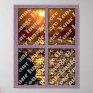 Cree su propia ventana con el capítulo del panel d póster
