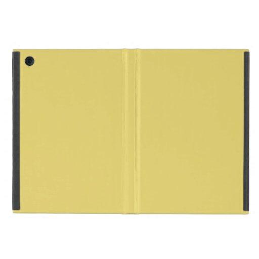 Cree su propio amarillo de encargo de Arylide iPad Mini Protectores