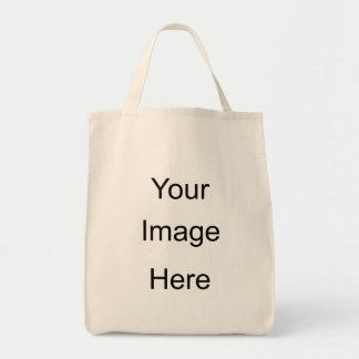 Cree su propio bolso de ultramarinos orgánico bolsas de mano