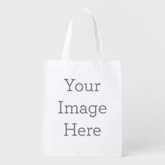 Cree su propio bolso de ultramarinos reutilizable bolsas reutilizables