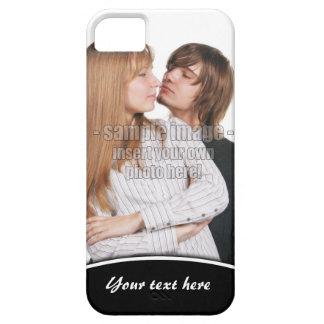 Cree su propio borde iPhone5 de Whtie de la foto iPhone 5 Carcasas