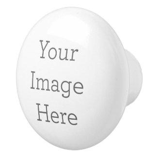 Cree su propio botón de cerámica pomo de cerámica
