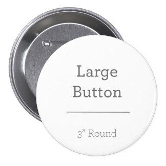 Cree su propio botón pin redondo de 3 pulgadas