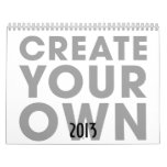 Cree su propio calendario