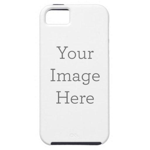 Cree su propio caso del ambiente del iPhone 5/5S iPhone 5 Case-Mate Carcasa